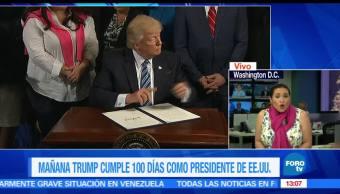 Trump firma orden ejecutiva en materia energética