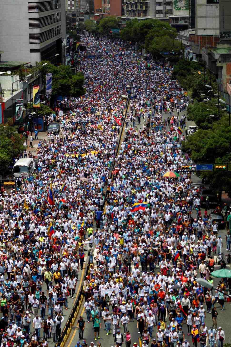 oposicion, protestas, venezuela, marchas,