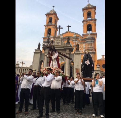Después de 200 años regresa el Viacrucis Angelopolitano en Puebla