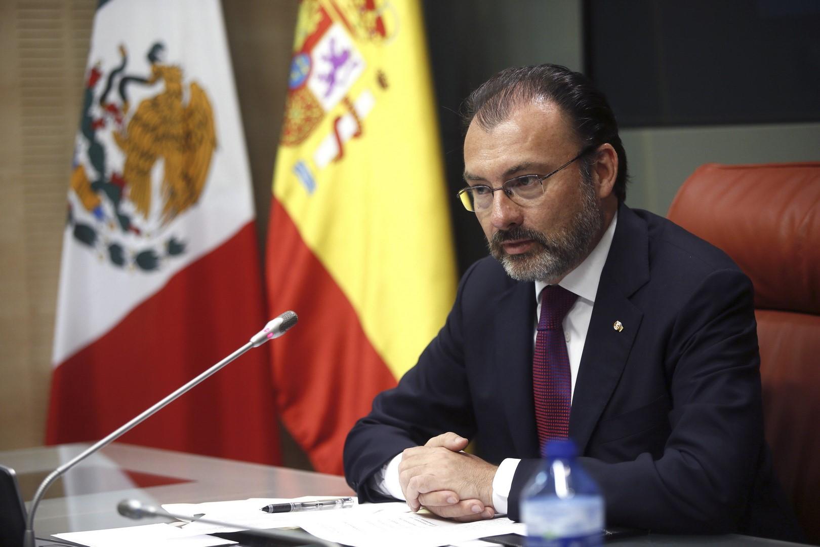 Exige Videgaray a EU respetar derecho de deportados 20/Abr/2017 Nacional