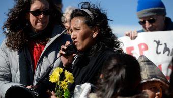 Desde el 15 de febrero de 2017, Jeanette Vizguerra vive refugiada en la iglesia santuario First Unitarian Society en Denver, Colorado. (Getty images, archivo)