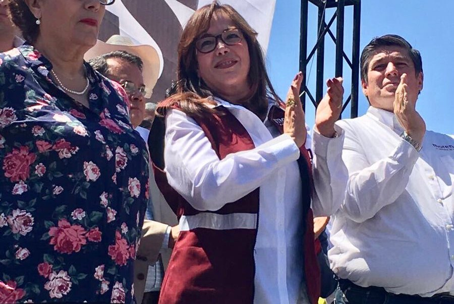 Yeidckol Polevnsky asumirá presidencia de Morena de manera interina