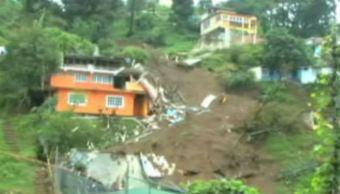 Zonas de riesgo en Veracruz (Noticieros Televisa)