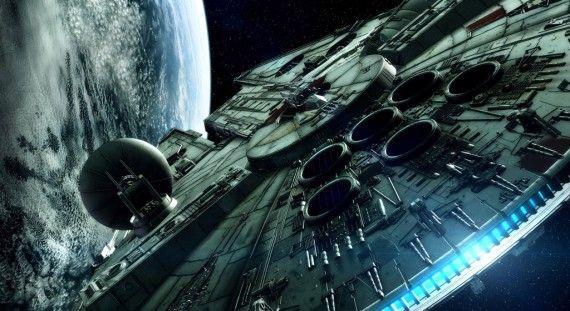 Halcón Milenario, Star Wars