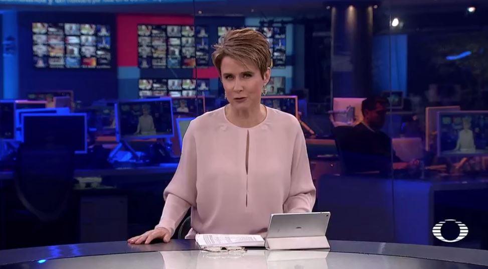 televisa news, noticias, 10 en punto, noticieros televisa, denise maerker, noticieros
