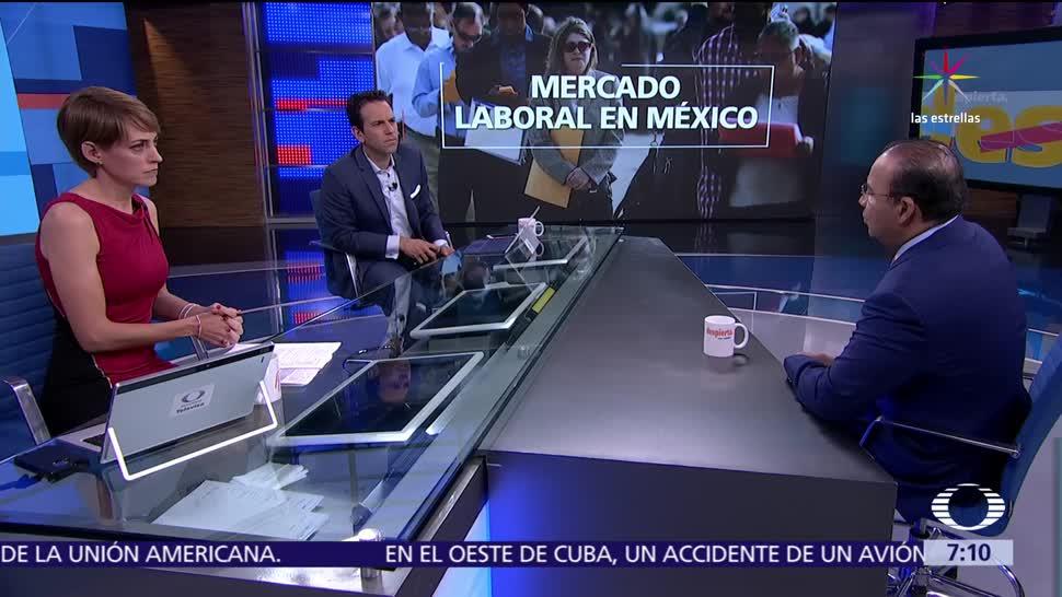 Alfonso Navarrete, secretario del Trabajo, mercado laboral, México