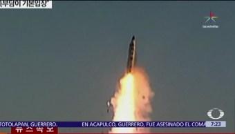régimen, comunidad internacional, prueba, misil, balístico