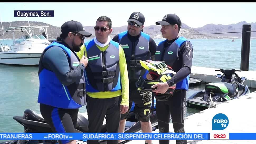 Rogelio Magaña, Mar, Cortés, motos acuáticas