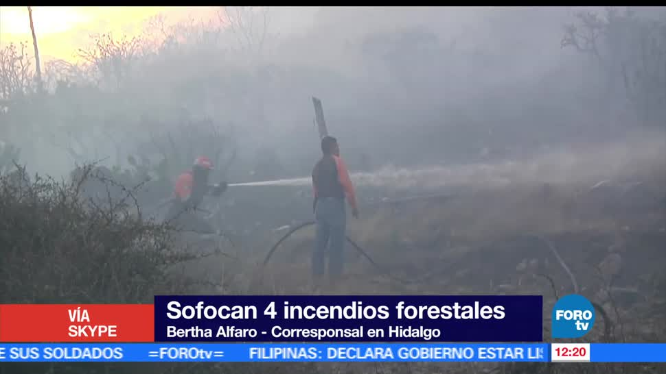 Bomberos de Pachuca, brigadistas, incendios, Pachuca