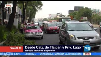 Fuertes vientos, derriban árboles, CDMX, Ciudad de México
