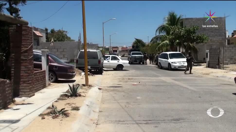 noticias, televisa news, Enfrentamiento, Los Cabos, 8 muertos, marina