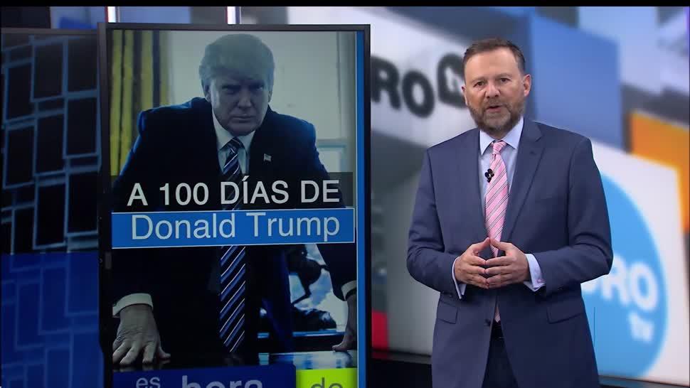 noticias, televisa news, 1OO dias, Donald Trump, presidente de Estados Unidos, gobierno