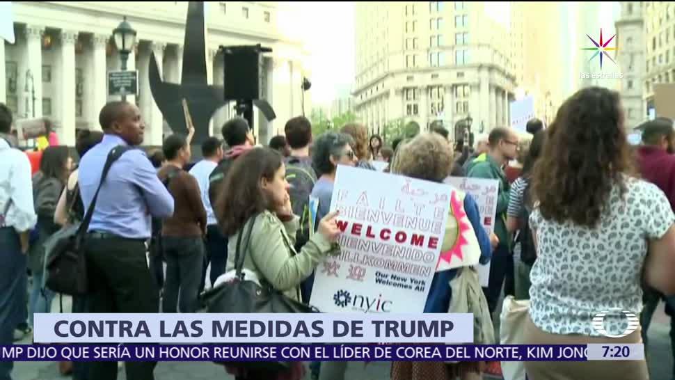 Migrantes, Trump, estados unidos, politicas de trump,