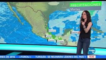 rachas de viento, El clima, Claudia Torres, tolvaneras