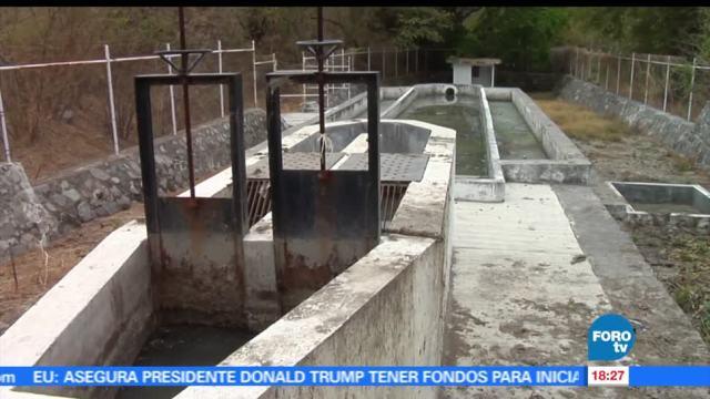 Fallas, tratamiento, aguas negras, Colima