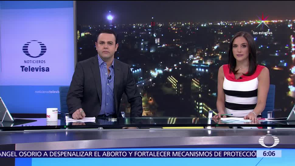 Las noticias, con Danielle Dithurbide, Programa completo, Guillermo Ochoa