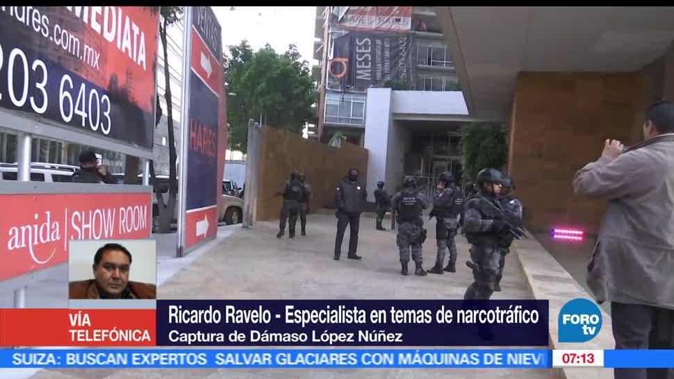Detienen a Damaso Lopez Nunez, Damaso Lopez Nunez, Sucesor de Joaquin El Chapo Guzman, Ricardo Ravelo