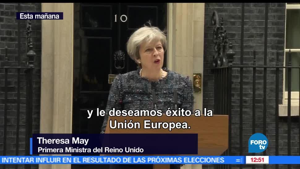 Reino Unido, Horacio Rocha, primera ministra británica, Parlamento