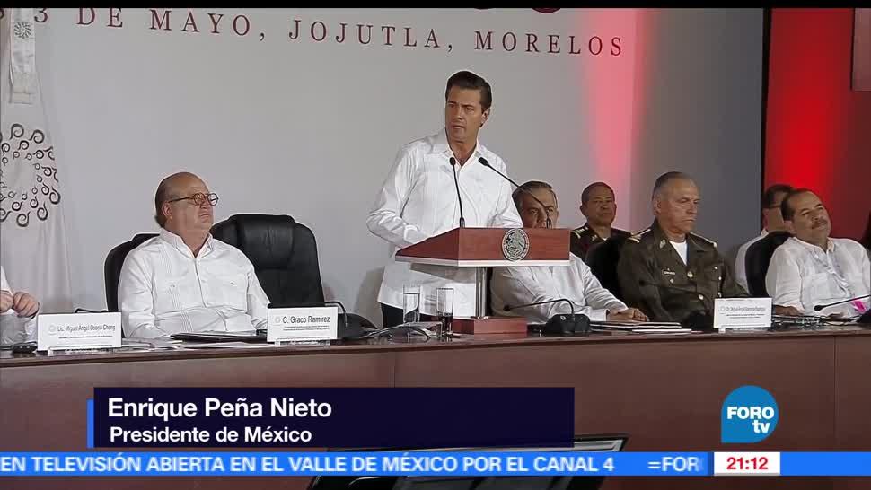 noticias, hora 21, EPN, clausura, Conago, Morelos
