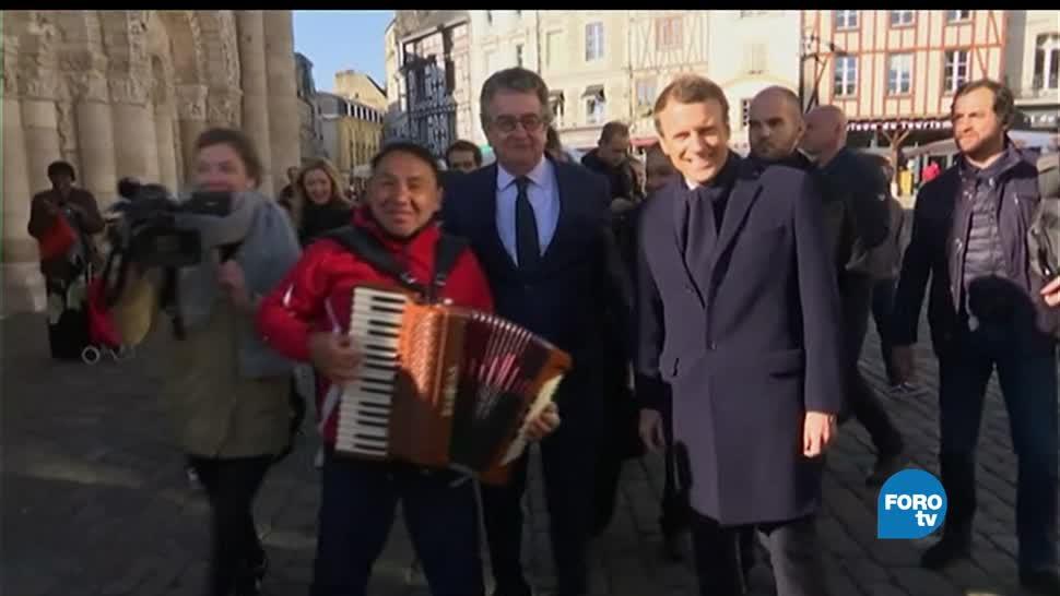 noticias, forotv, Francia, Emmanuel Macron, Elecciones, eleccciones en francia