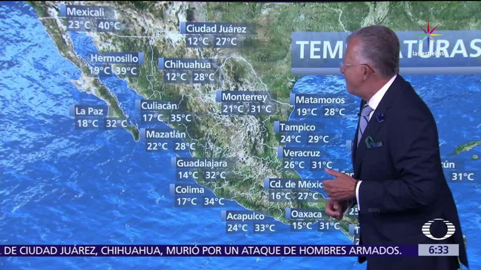frente frío, noreste, Golfo de México, tormentas