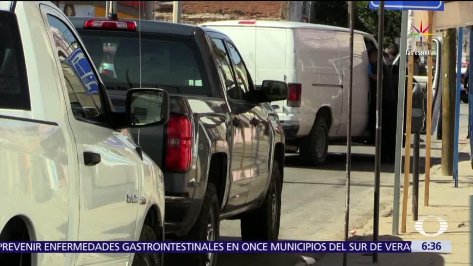Hombres, policías, Ciudad Juárez, cuartel de Policía, muerto