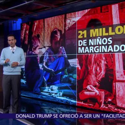 54% de los niños de México viven en pobreza
