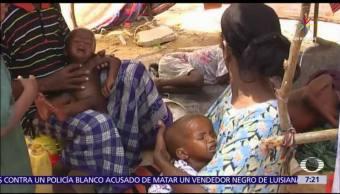 Cierran escuelas, inasistencia de alumnos, hambruna, país africano