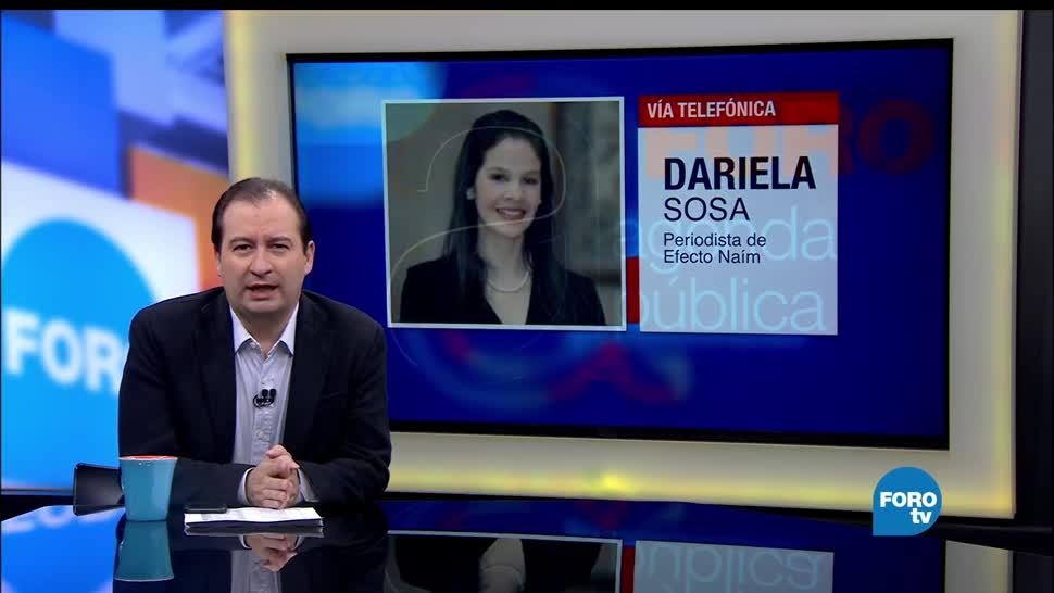 periodista, Dariela Sosa, represión, Venezuela, Nicolás Maduro