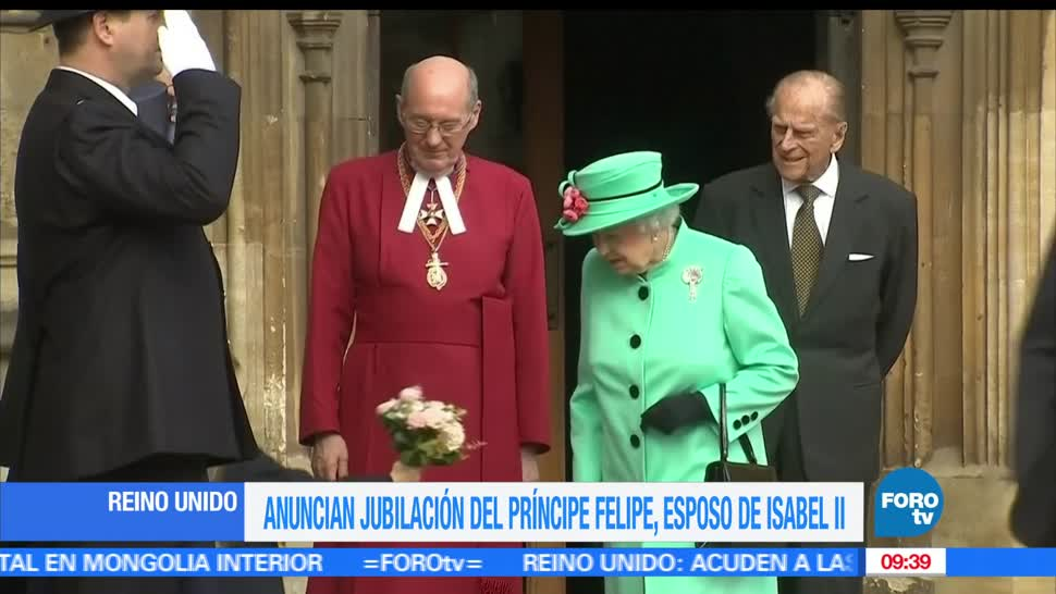 premier británica, Theresa May, Felipe, Edimburgo
