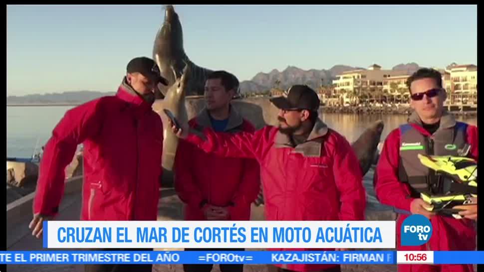 Rogelio Magaña, México sobre Ruedas, travesía, Mar de Cortés