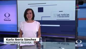 noticias, teleevisa news, Las Noticias con Karla Iberia, Programa, 4 de mayo de 2017, Karla Iberia