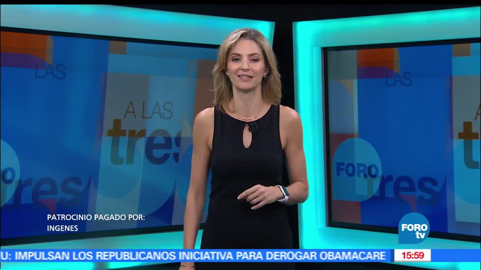 Noticias, fotrotv, A las Tres, Programa completo, 4 de mayo de 2017, ana paula ordorica