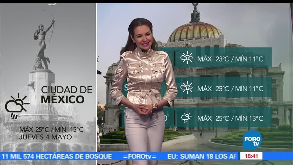 noticias, televisa news, El clima, Mayte Carranco, clima, calor