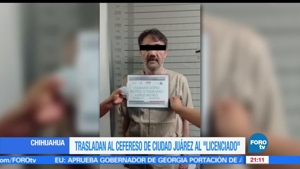 'El Licenciado' obtiene amparo para no ser trasladado de penal