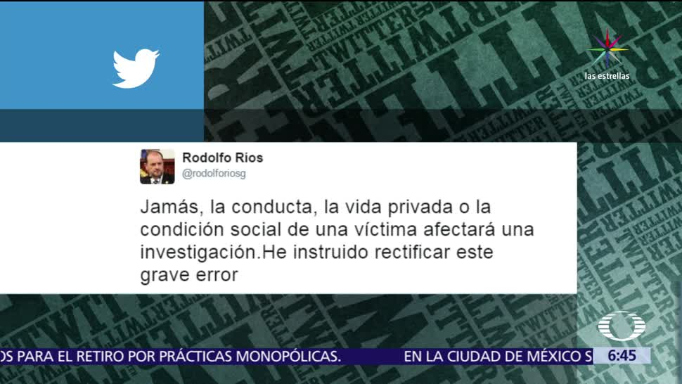 PGJ CDMX, retira tuits, mujer asesinada, UNAM