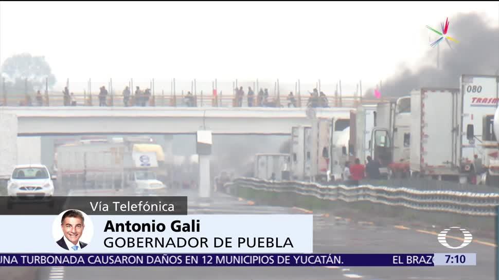 Antonio Gali, Dos mil soldados adicionales, serán desplegados, Puebla