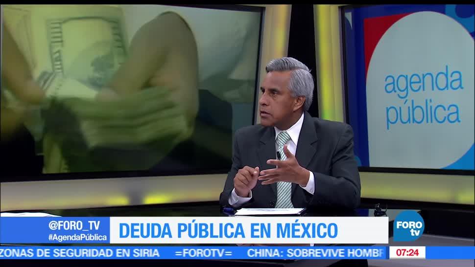 cuánto es la deuda pública en México, Pedro Tello, especialista en temas económicos, comenta que para el 2017