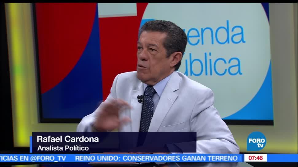 Conflictos internos, Rafael Cardona, analista político, partidos políticos