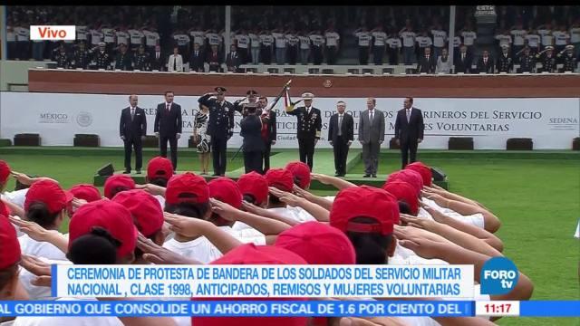 Enrique Peña EPN, servicio militar nacional, anticipados, remisos y mujeres voluntarias