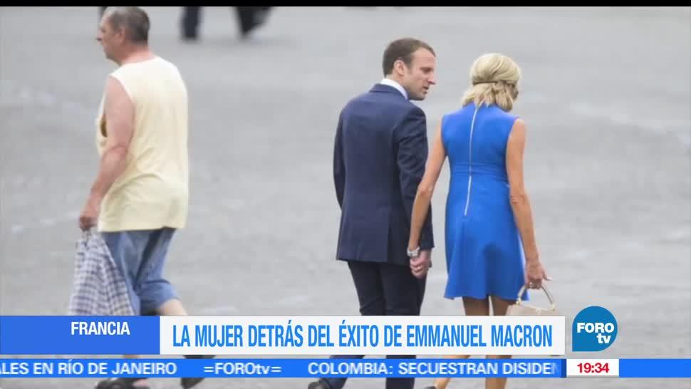 La mujer detrás del éxito, Emmanuel Macron, Le presento, presidencia de Francia