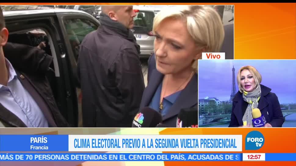 Todo listo, Kasia Wyderko, corresponsal de Noticieros Televisa, presidenciales francesas