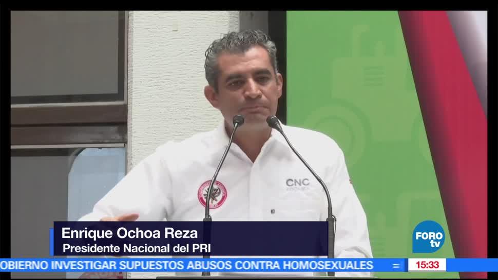 Morena, Movimiento de Recaudacion, Ocho Reza, PRI, Delfina Gómez, PRD