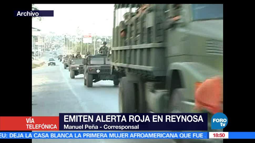 Activación, Código Rojo, Reynosa, Tamaulipas, Seguridad, Violencia
