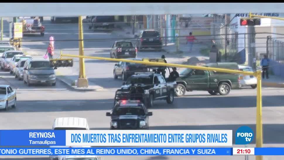 noticias, forotv, Nuevo enfrentamiento, Reynosa, 2 muertos, codigo rojo