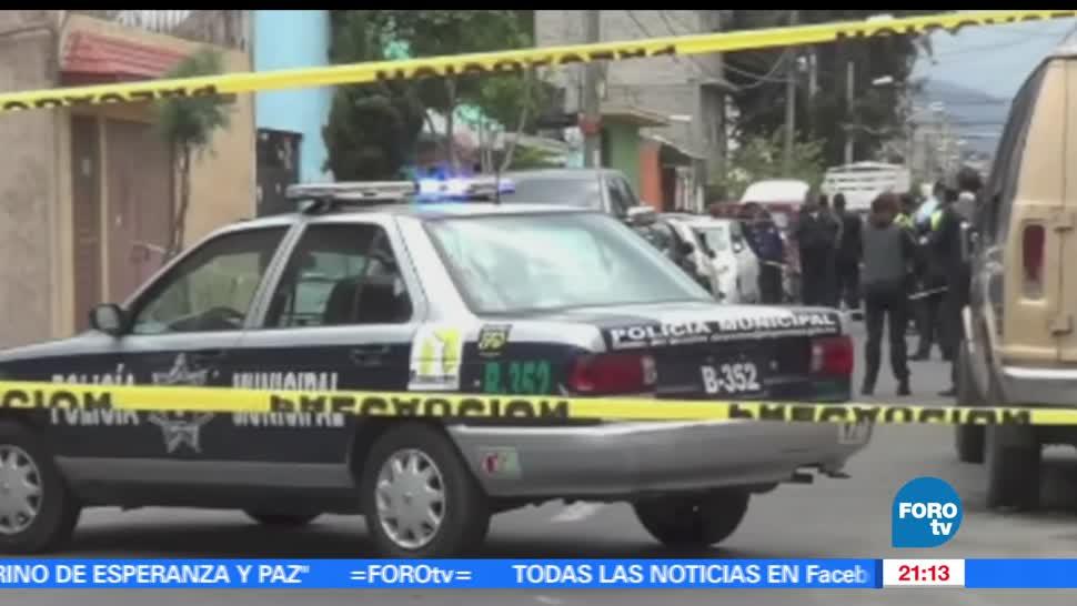noticias, forotv, Enfrentamiento, Nezahualcoyotl, cuatro muertos, colonia La Perla