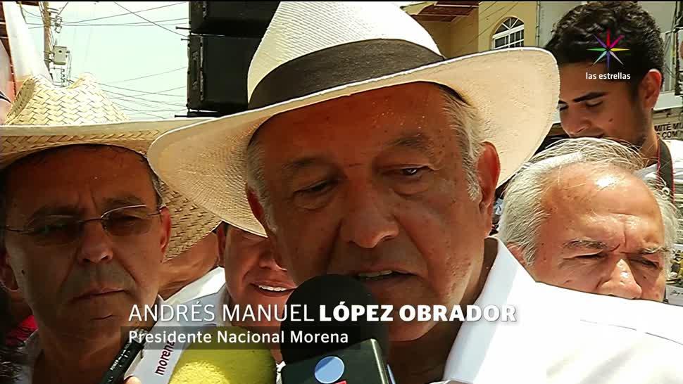 Noticias, Televisa News, AMLO, condiciona, unidad de izquierdas, 2018