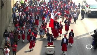 Noticias, Televisa News, Batalla de Puebla, Penon de los Banos, CDMX, conmemoran