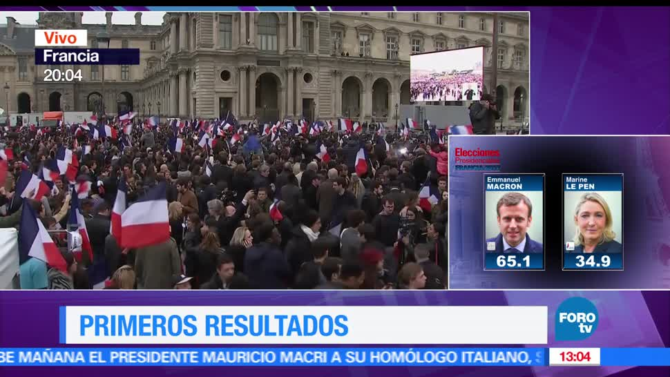 Kasia Wyderko, Emmanuel Macron, nuevo presidente, Francia