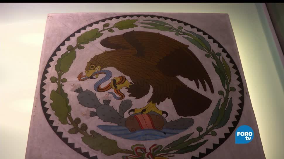 Exposición, Escudo, Nacional, Museo Nacional de Antropología, elementos, naturales